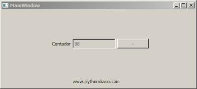 Contador decreciente en Python