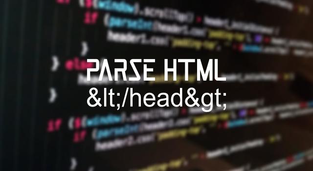 Tools Parse HTML, Kegunaan dan Manfaatnya untuk Blogger