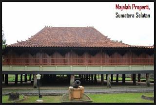 Desain Bentuk Rumah Adat Sumatra Selatan dan Penjelsannya, Palembang