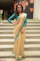 Tejaswi Madivada looks super cute in Saree at V care fund raising event COLORS ~  Exclusive 095.JPG