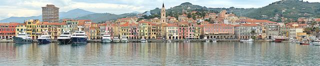 Oneglia in the province of Imperia