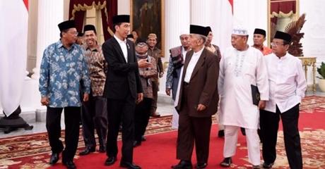 Minta Ulama Redam Gejolak, Pemerintah Resmi Bubar HTI, Ini Penjelasan Presiden Jokowi