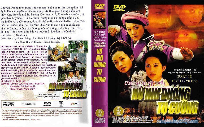 http://xemphimhay247.com - Xem phim hay 247 - Dương Môn Nữ Tướng - Nữ Nhi Đương Tự Cường (2001) - Legendary Fighter Yang's Heroine (2001)