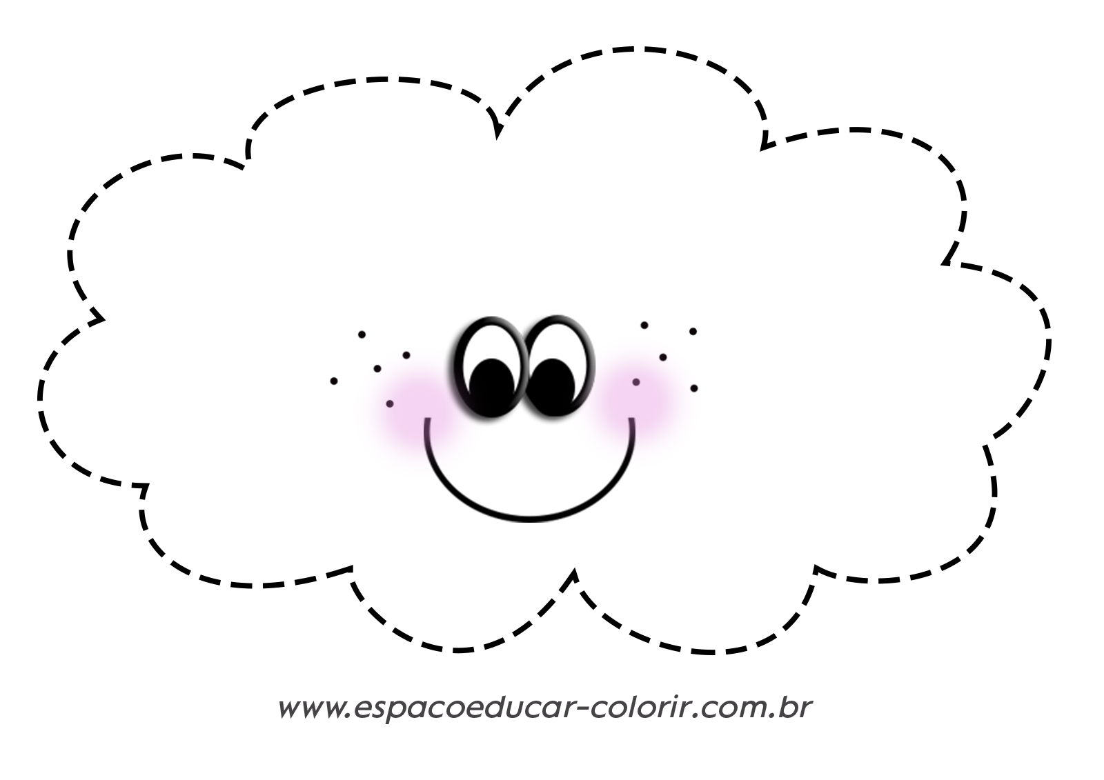 Desenhos Pontilhados Coordenacao Motora Nuvem E Coracao Em Png