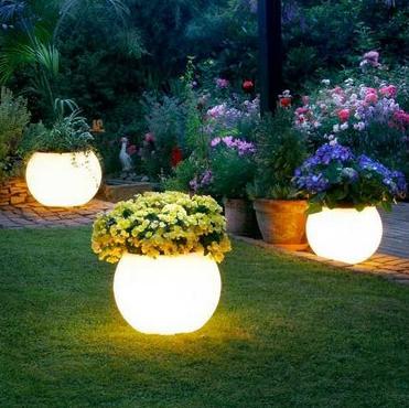 Models of Minimalist Garden Lights