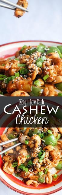 EASY KETOGENIC CASHEW CHICKEN RECIPES