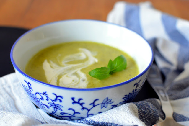 zupa%2Bz%2Bcukini Zupa krem z cukinii