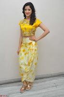 Richa Panai in Yellow Slim Fit Crop top ~ CelebxNext 026.JPG