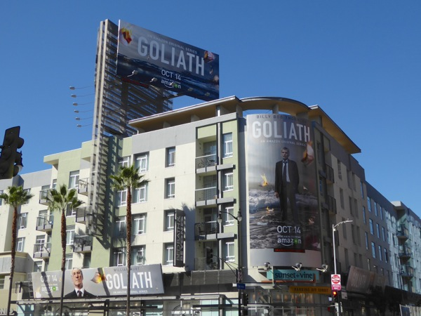 Goliath TV billboards