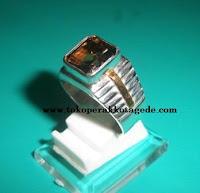 cincin perak pria simpel elegan