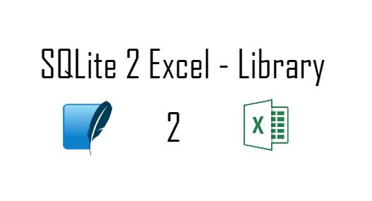 SQLiteToExcel - v1 0 0 - Android Mad