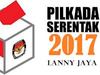 Dua Pasang Calon Bupati-Wakil Bupati Lanny Jaya 2017