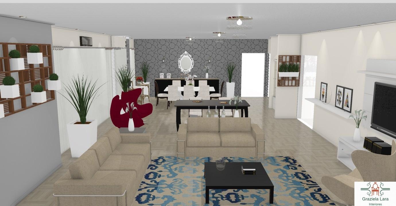 Construindo Minha Casa Clean Decora O De Sala Com Mesa De Sinuca  -> Decoracao De Sala Azul