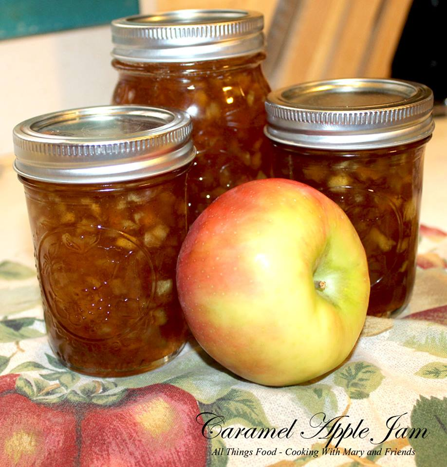 Cooking With Mary and Friends Caramel Apple Jam