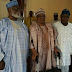 "Nigeria's Ex Presidents""OBJ, IBB And Abdulsalami Abubakar "" Meet Privately In MInna"