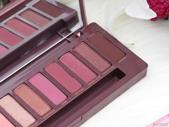 urban decay naked cherry revue blog