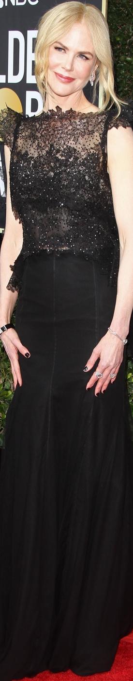 Nicole Kidman 2018 Golden Globes
