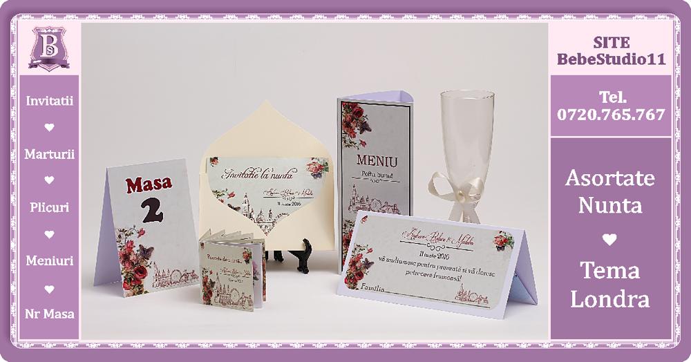 Bebestudio11com Invitatii Nunta Si Botez Modele Asortate Nunta