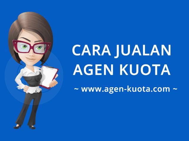 Cara Transaksi Bisnis Jualan Agen Kuota Pulsa Murah di Agen-Kuota.com
