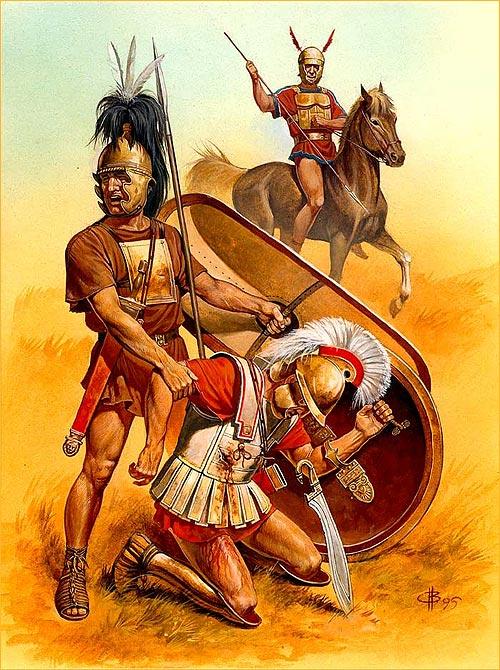 Гей воины в древнем риме