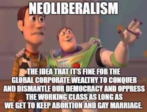 Toy Story Neoliberalism Meme