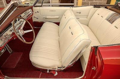 1965 Pontiac Bonneville Convertible Seat Front