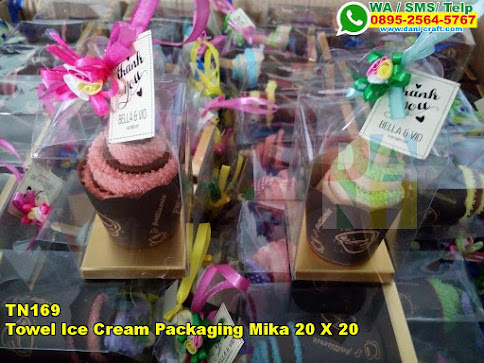 Toko Towel Ice Cream Packaging Mika 20 X 20
