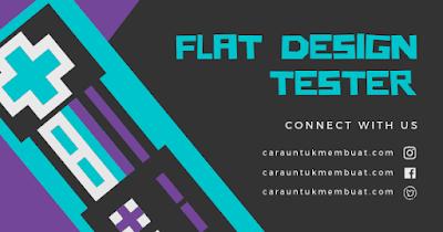Contoh Gambar Flat Design 3