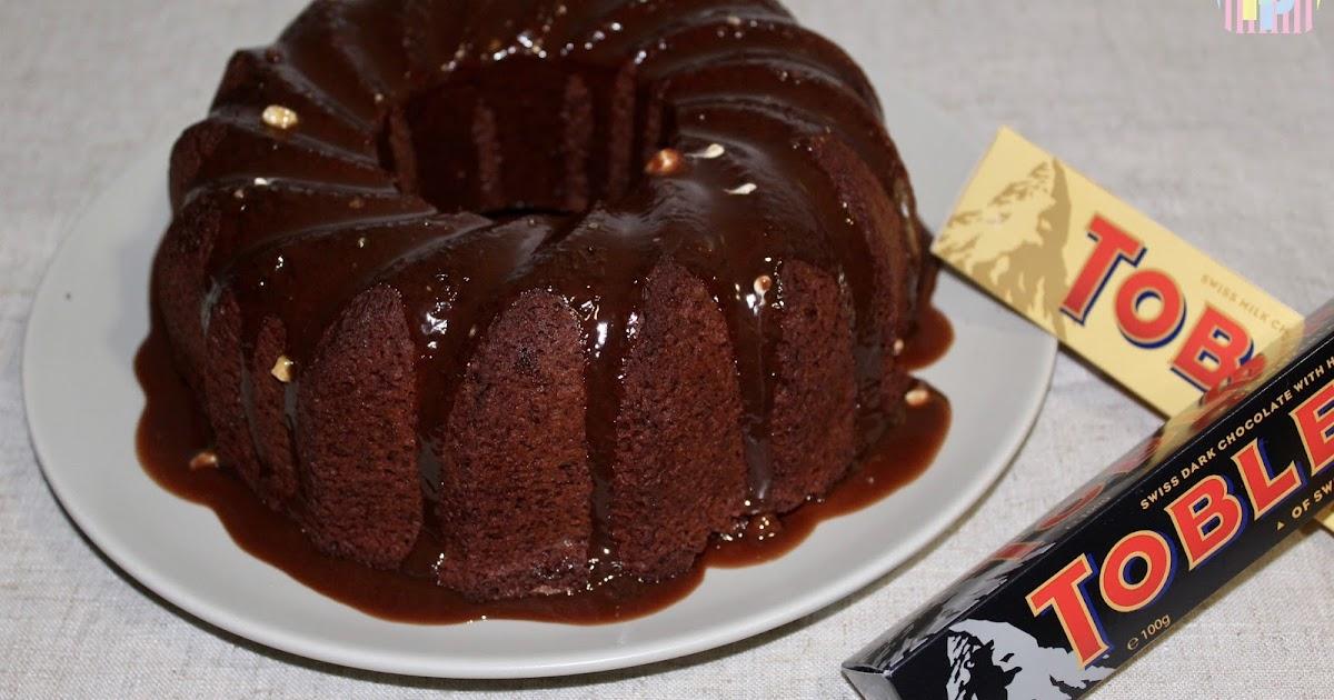 Bundtcake de Toblerone® (sin gluten y bajo contenido en lactosa)
