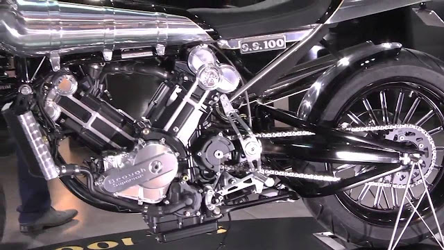 Brough Superior SS100 Exhaust Sound