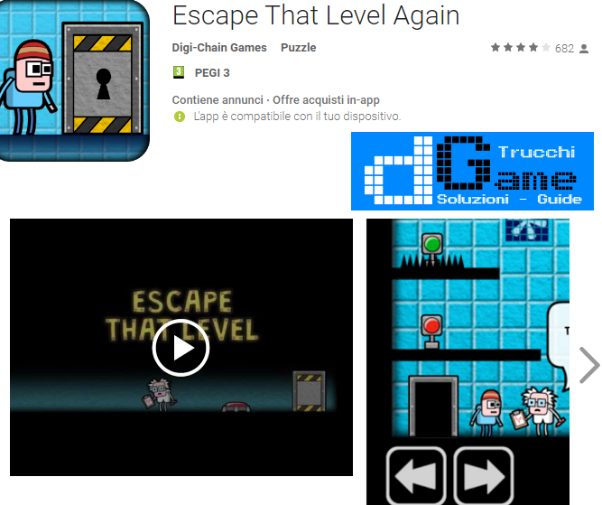 Soluzioni  Escape That Level Again livello 1-2-3-4-5 | Trucchi e Walkthrough level