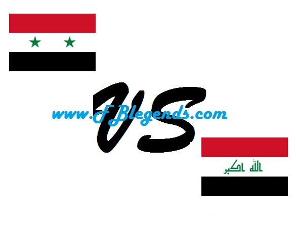 مشاهدة مباراة العراق وسوريا بث مباشر مباراة وديه اليوم 13-11-2017 اون لاين يوتيوب iraq vs syria