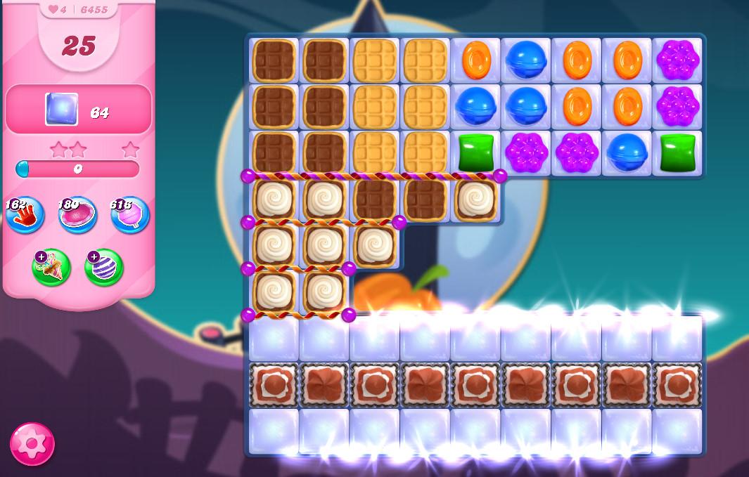 Candy Crush Saga level 6455