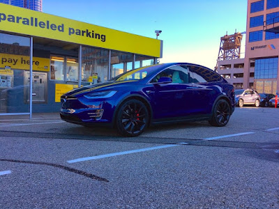 Voiture Tesla Model X P100D
