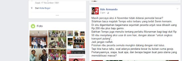 Fitnah #AksiDamai411; Berapa Bagian Buat Para Ulama?
