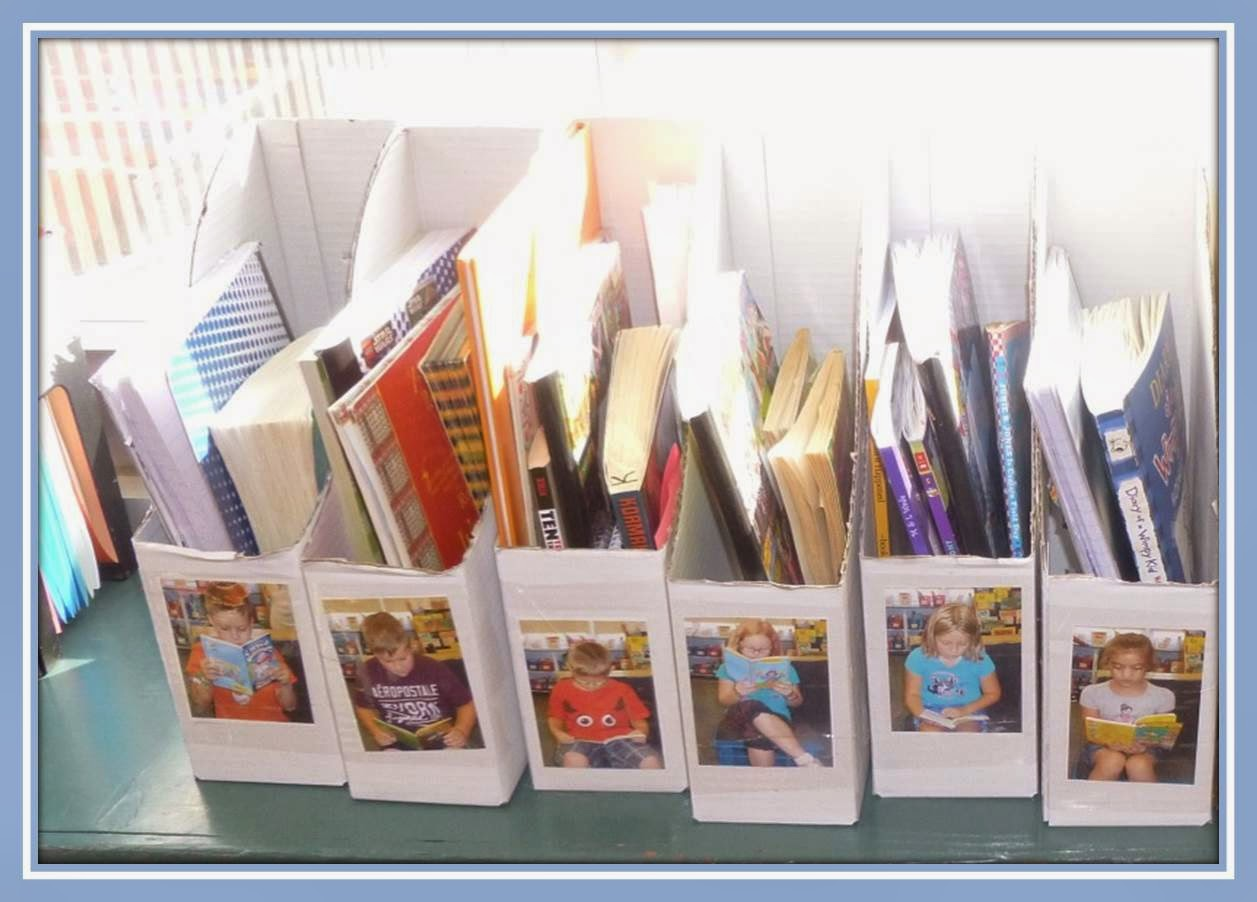 A guest blog post from Elementary AMC all about using magazine holders to organize student books in the classroom!