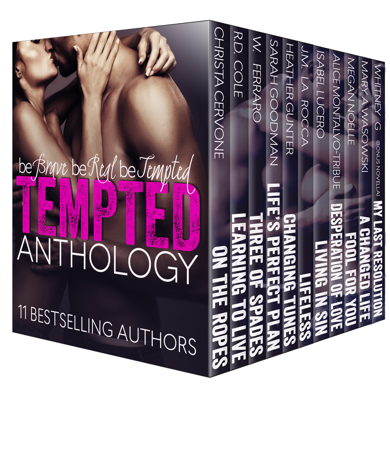 Release Day Blitz: Tempted Anthology!!