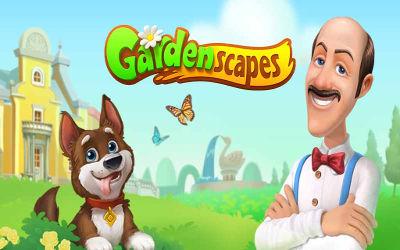 Gardenscapes - Jeu d'objets cachés sur PC