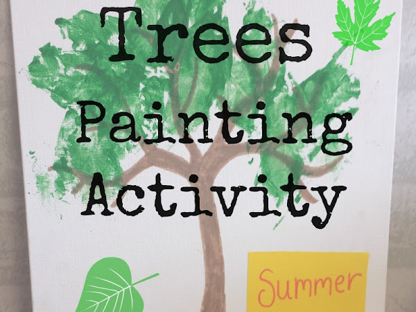 Summer Trees Painting Activity