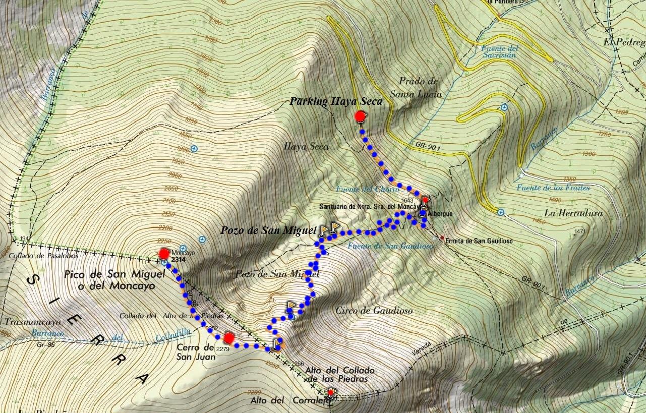 Moncayo (2.314 m)