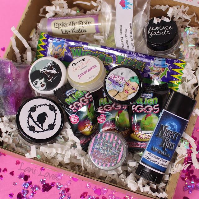 Femme Fatale Emporium Beauty Box #1 Swatches & Review