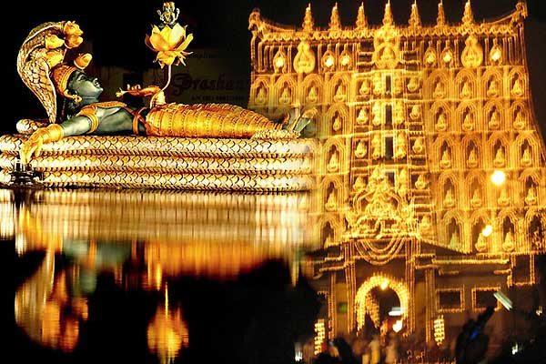 richest temple in india , padmanabhaswamy temple gold