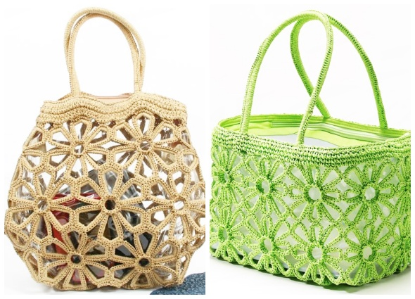 bolso flora, bolso flores, compociones, ganchillo, patrones crochet