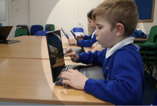 توزيع منهج الكمبيوتر للمرحلة الابتدائية 2019 الترم الثاني