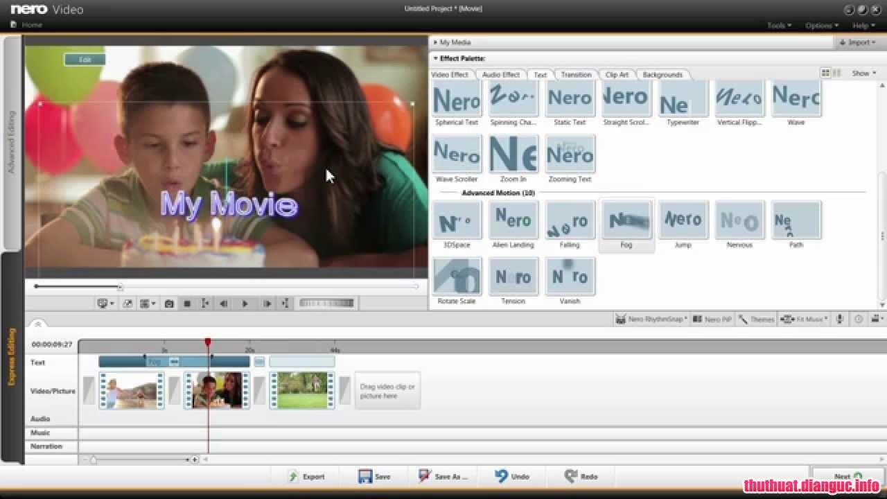 Download Nero Video 2019 v20.0.2014 Full Cr@ck – Chỉnh sửa và tạo video mạnh mẽ