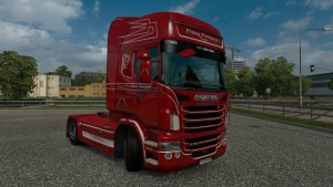 Flying Dutchman Bergen Skin for Scania RJL