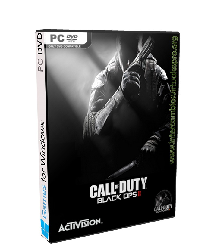 CALL OF DUTY BLACK OPS II poster box cover