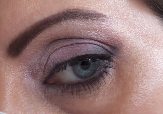Lorac pro palette shadow on eye