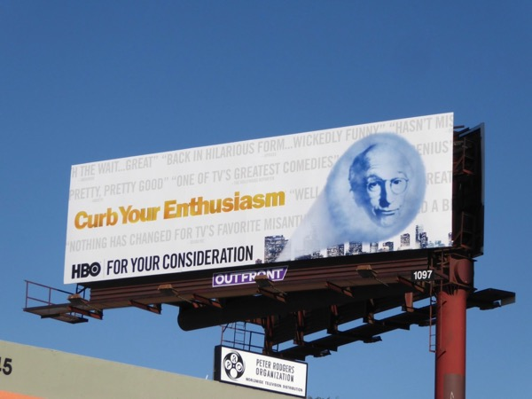 Curb Your Enthusiasm season 9 FYC billboard