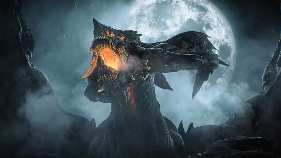 Demons Souls, Dragon God, PS5, Remake, 4K, #5.2224